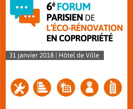 Forum éco-rénovation copropriété Paris