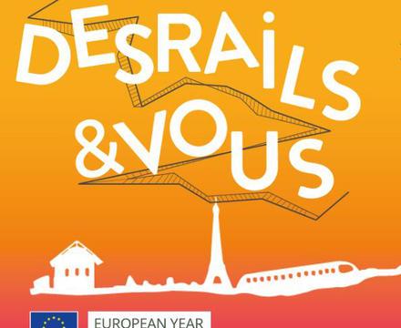 Visuel festival Des Rails & Vous