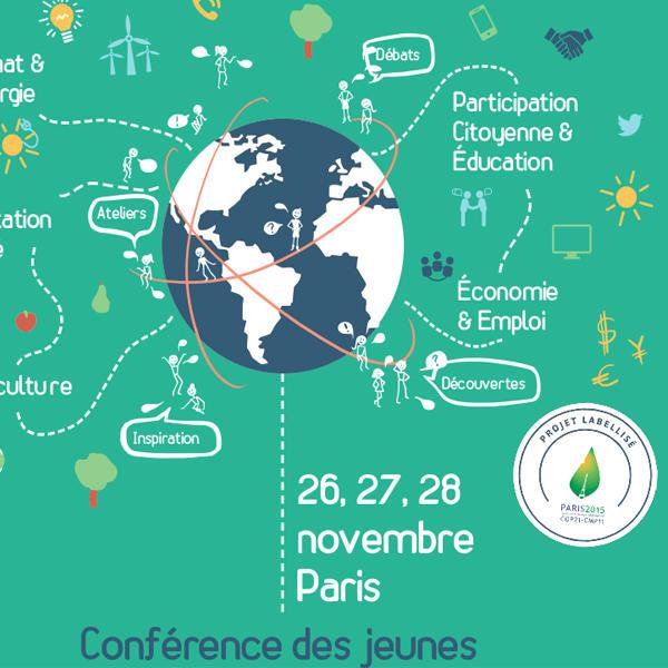 conférence des jeunes COP21