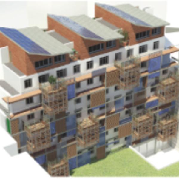 Rénovation d'un immeuble d'habitations à coût zéro