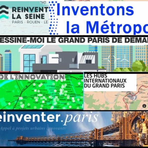 6 concours ou appels à idées pour le Grand Paris