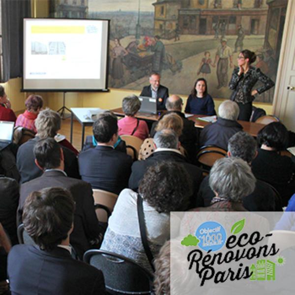 Réunions publiques Ecorénovons Paris