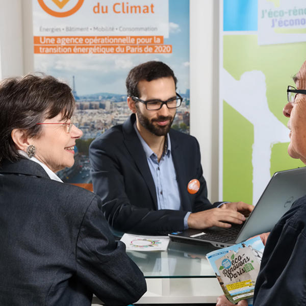 Image illustrant le guichet unique info énergie et rénovation énergétique à l'APC.