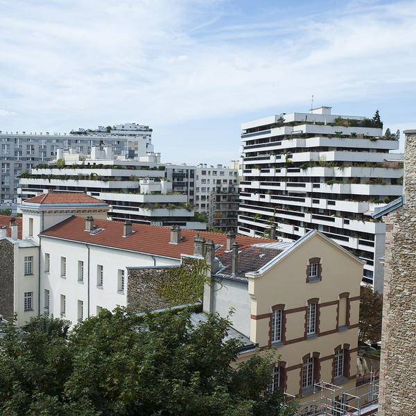 Avec près de 1,5 millions de logement, Paris est une ville très peuplée et dense