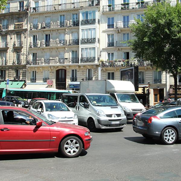 La circulation à Paris : facteur de GES