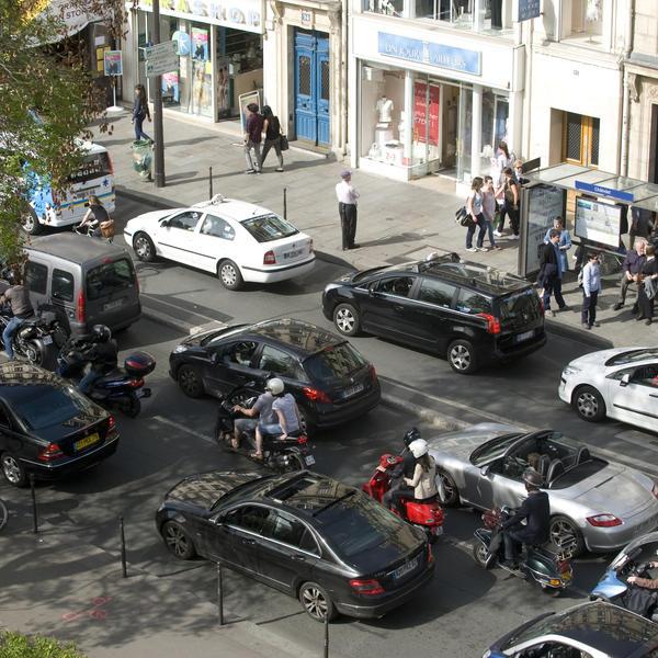 Des solutions aternatives lors de pics de pollution à Paris