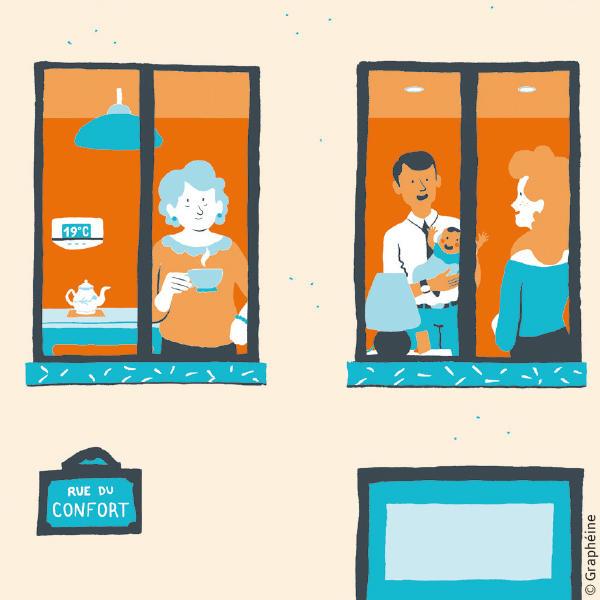 Logement confortable et économe
