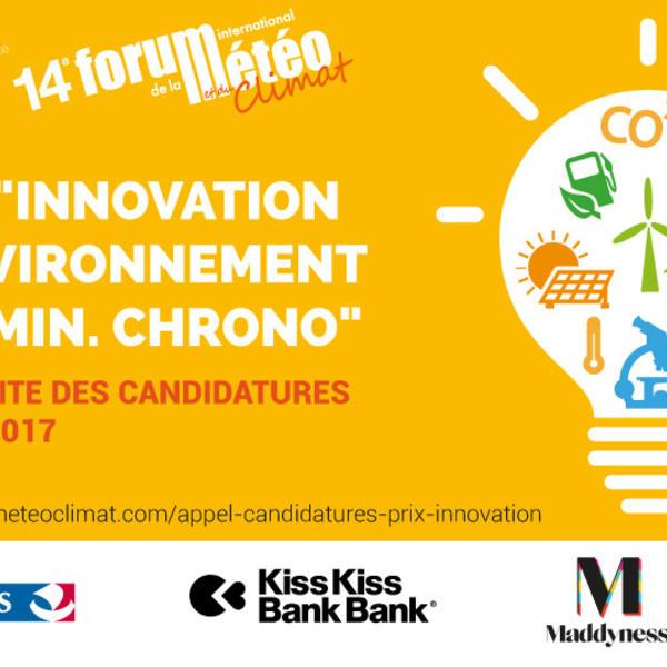 Prix innovation et environnement 2017