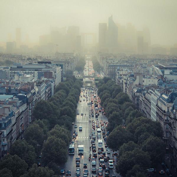 pollution de l'air Paris