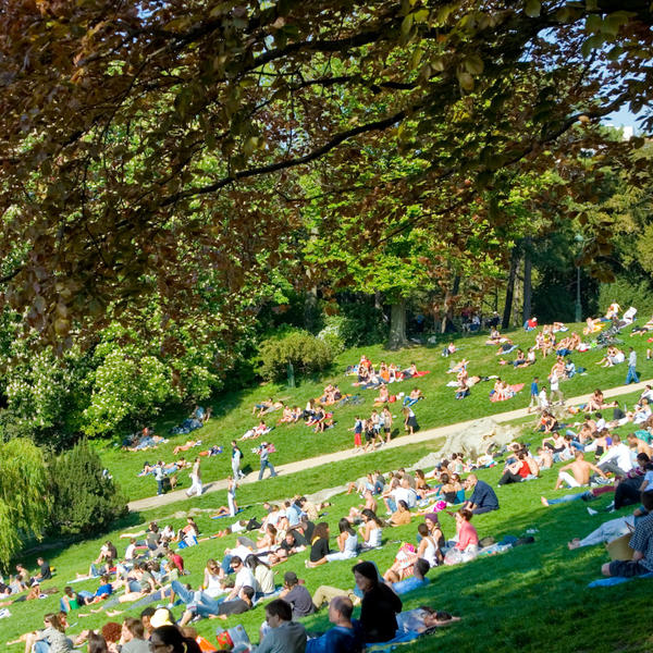 Parc Buttes Chaumont - Crédits: JL Vandevivère
