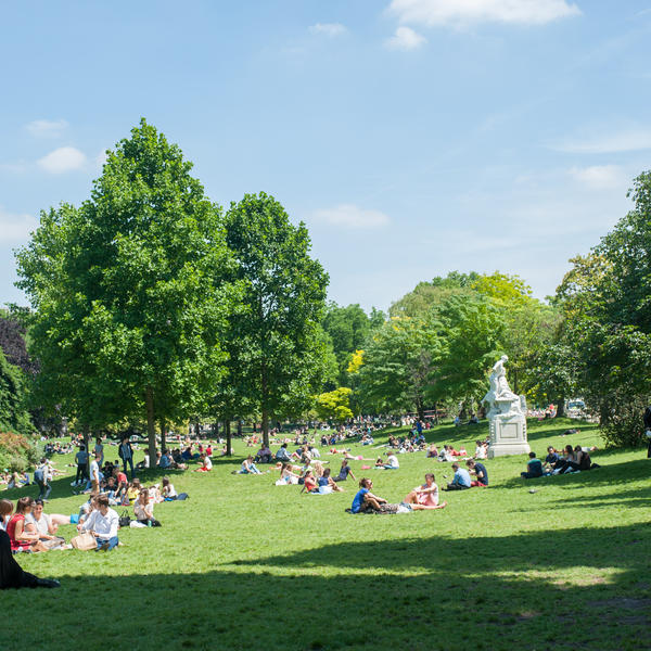 Parc Monceau - Crédit Mairie de Paris Lorie Elies