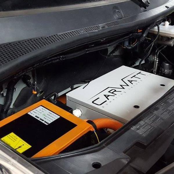 Transformation d'une voiture thermique