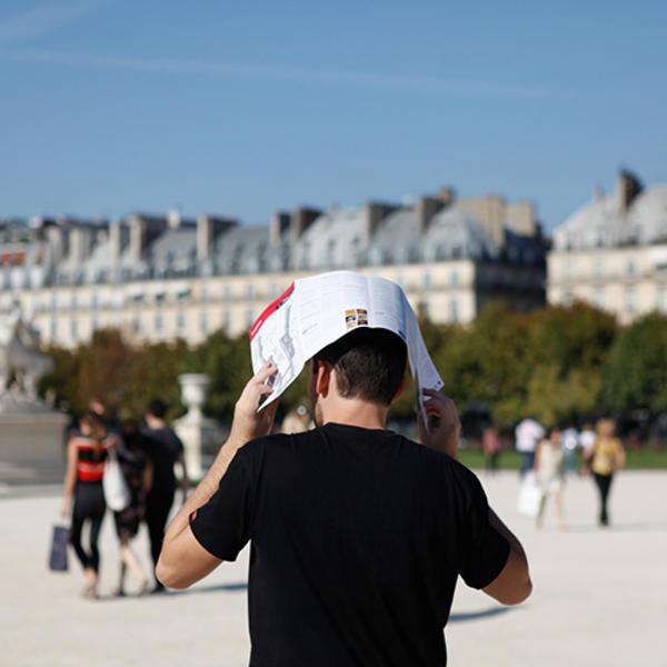 canicule paris changement climatique tuileries GIEC COP21
