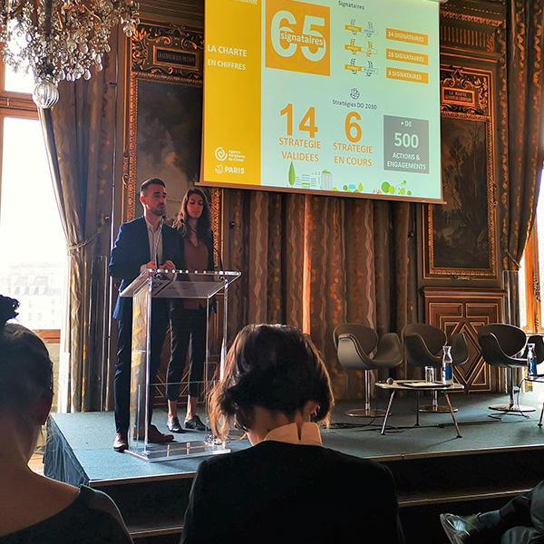 Cérémonie Signature Charte Paris Action Climat