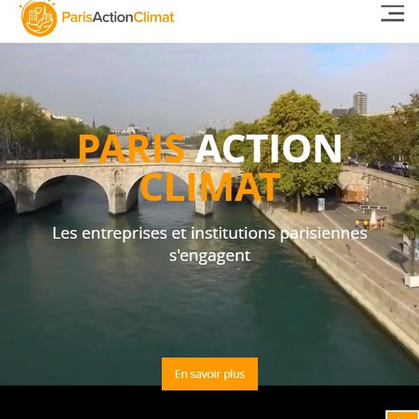 Site Paris Action Climat