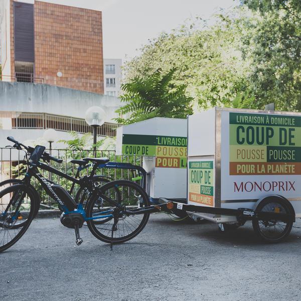 Un vélo cargo du projet Hestia