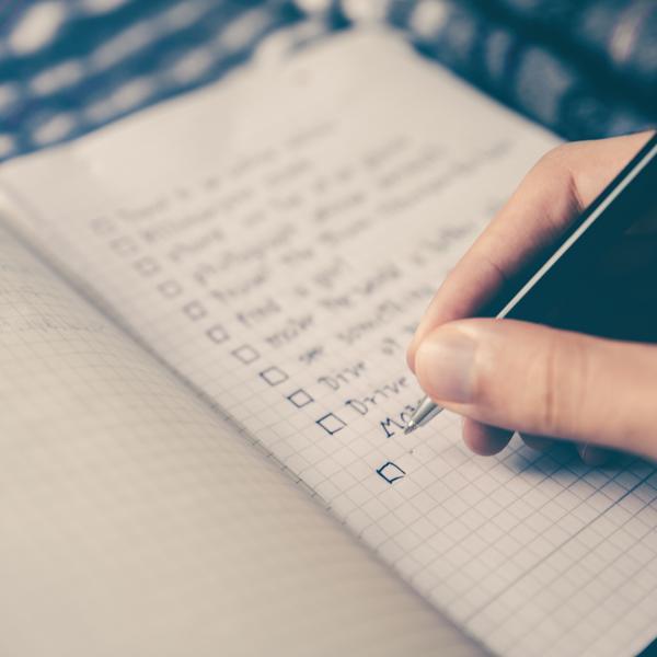 Liste bonnes résolutions