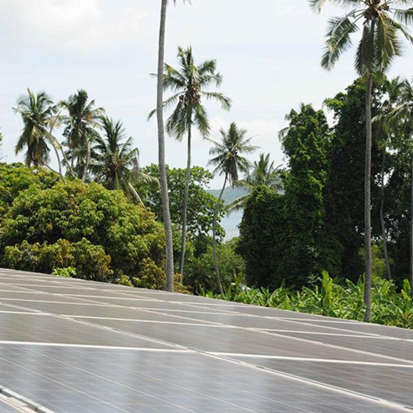 Panneaux solaires à Mayotte