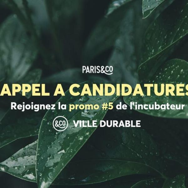 Paris &Co Ville Durable
