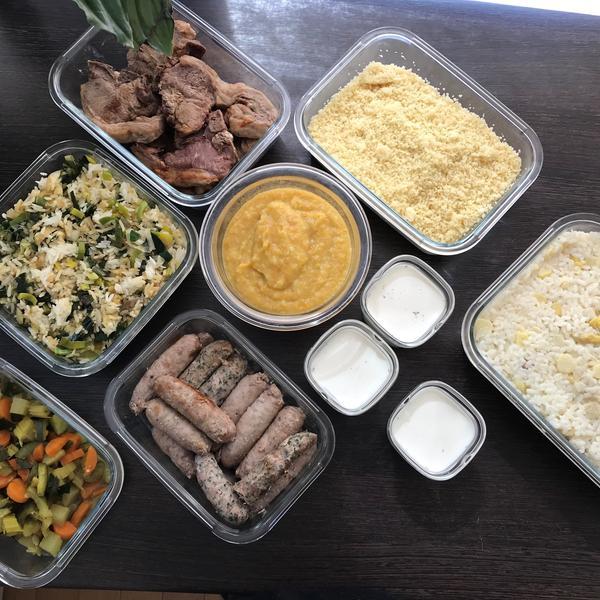 Des repas préparés d'avance