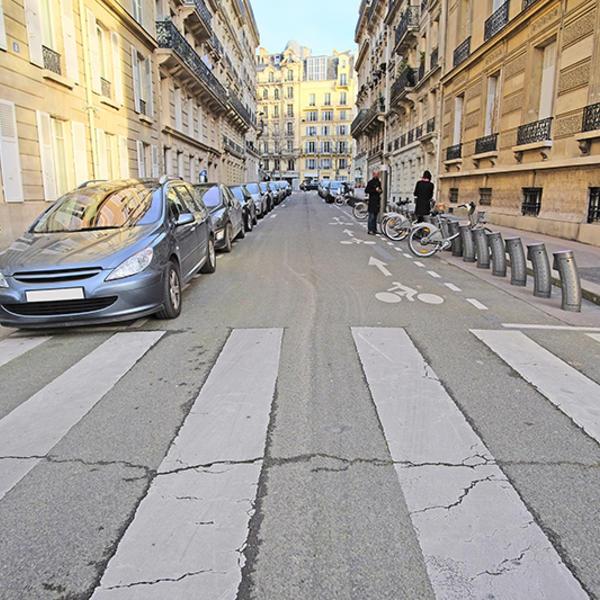 Places de stationnement à Paris