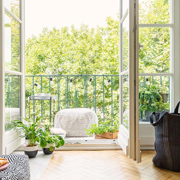 Balcon végétalisé