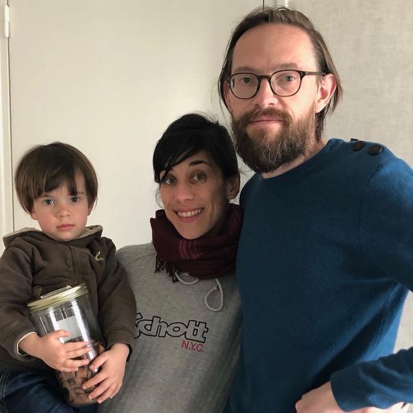 Photo de Paola et sa famille
