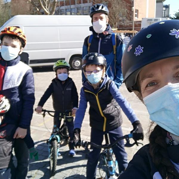 Photo de Natali et de sa famille