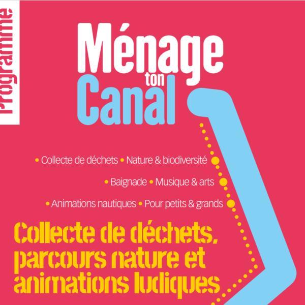 Visuel opération Ménage ton Canal