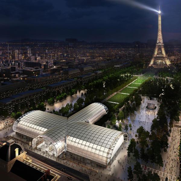 10e Forum International Bois Construction © Wilmotte & Asscoiés Architectes