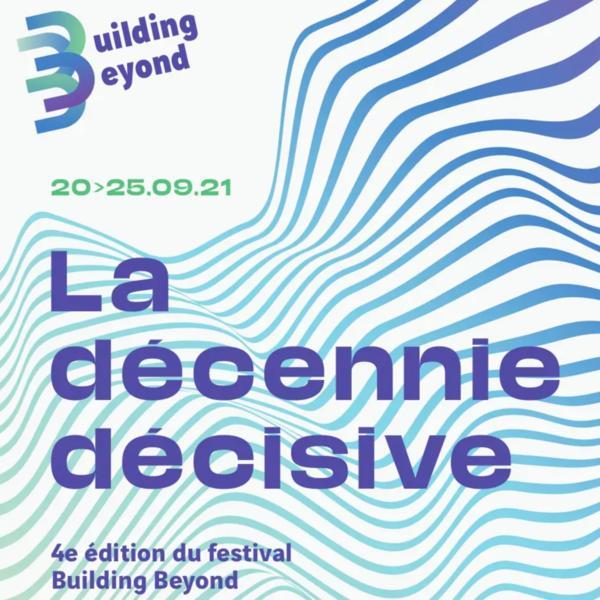 Visuel festival Building Beyond