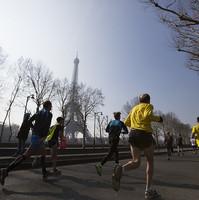 Coureurs du Marathon de Paris