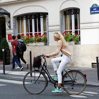 Mobilités actives à Paris. Crédits photo : Ville de Paris