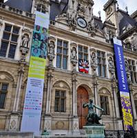 Hôtel de Ville aux couleurs du Paris de l'Avenir