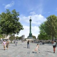 La future place de la Bastille / © Ville de Paris