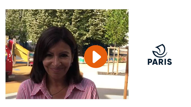 Anne Hidalgo présente les mesures pour lutter contre la canicule