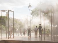 Ilot de fraicheur à Paris