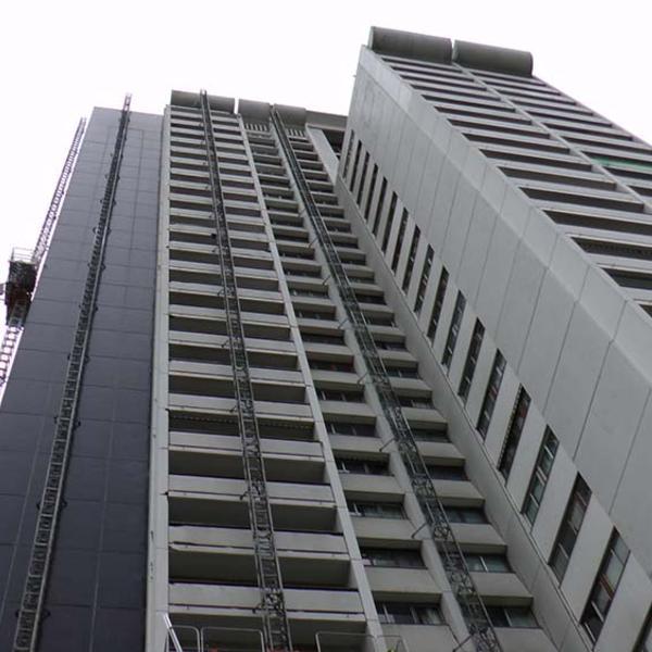 Requalification architecturale et énergétique d'une copropriété de grande hauteur
