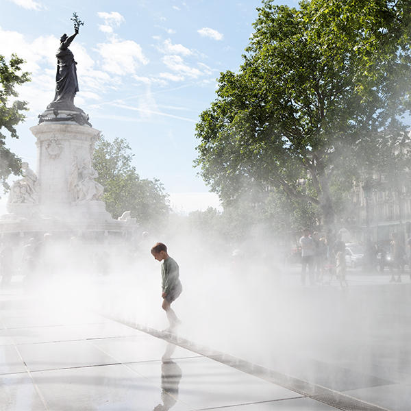 canicule à Paris
