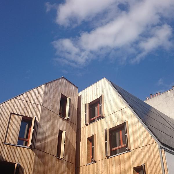 Un immeuble neuf à énergie positive