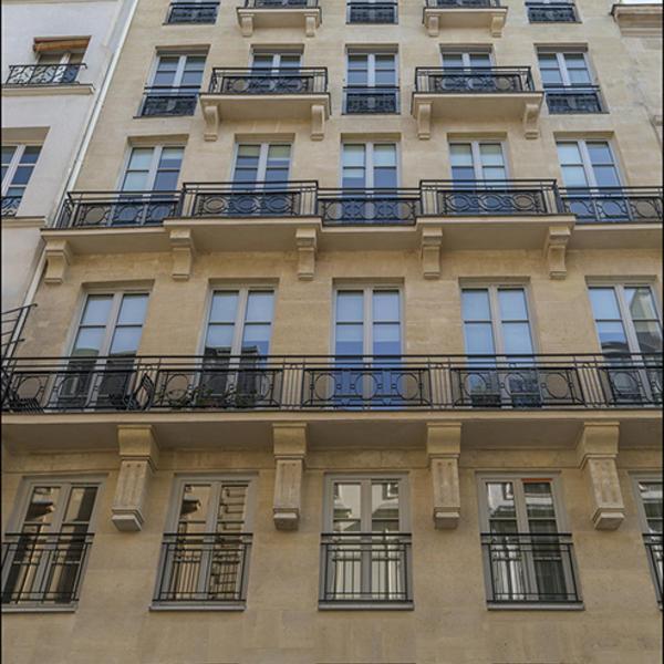 Rénovation d'un immeuble dans le cœur historique de Paris