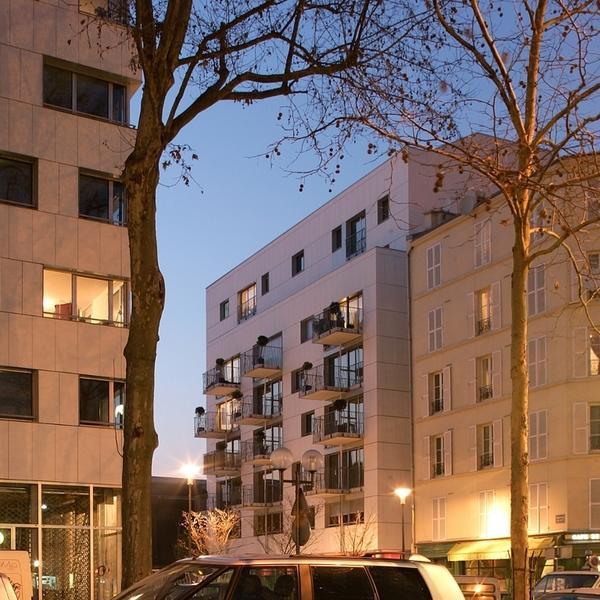 4 immeubles au cœur d'un quartier en mutation