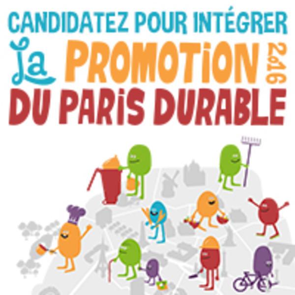 Promotion Paris Durable 2016