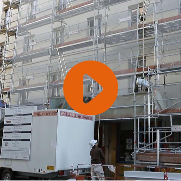 Vidéo Sur le chantier d'une rénovation globale exemplaire (Paris 13)