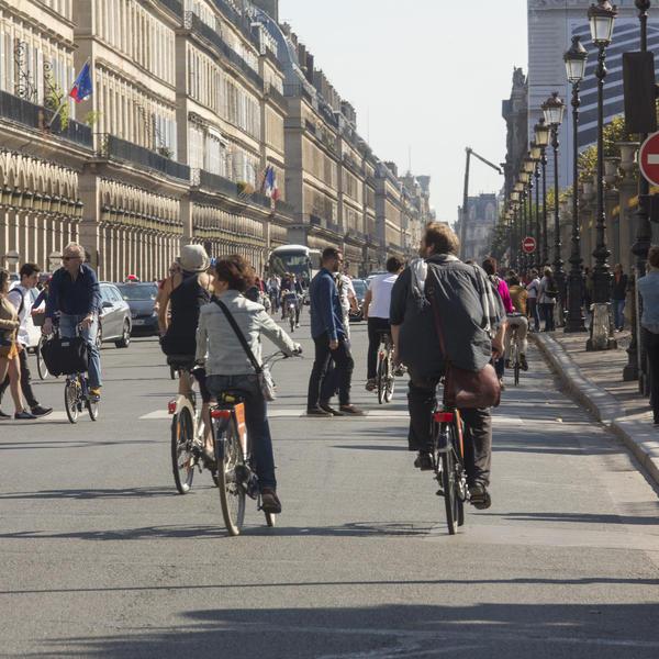 mobilité à Paris