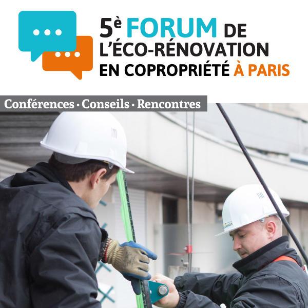 Le Forum de l'Eco-rénovation se tiendra à Paris le 27 février 2017