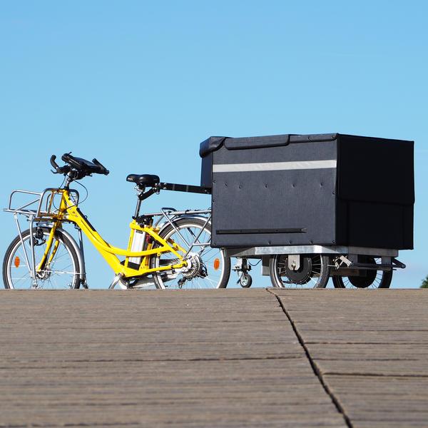 Kyrole la remorque électrique qui révolutionne le transport de petites marchandises