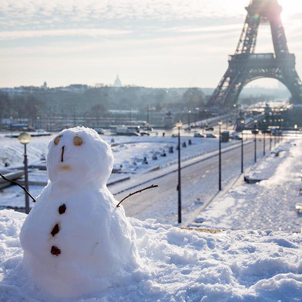 Vague de froid ? Oui, mais un hiver 2018 plus chaud que la