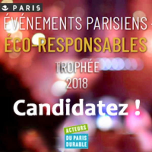 Trophées parisiens des événements éco-responsables