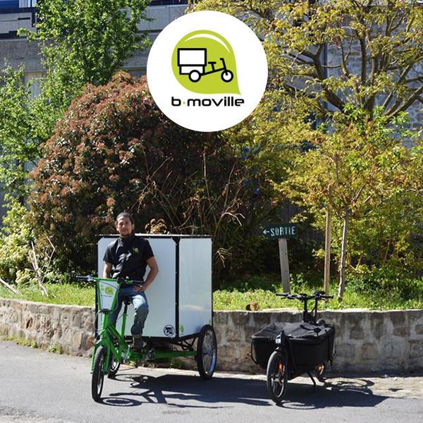 Nouveaux modes de logistique urbaine avec B-Moville